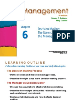 Management Robbins PPT06
