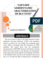 Lift-Off Aerodynamic Characterization of RLV-TSTO