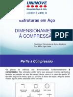 Aço - Dimensionamento á Compressão