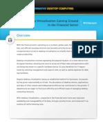 Dit Whitepaper Desktop Virtualization Financial