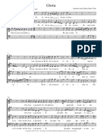 LOTTI Gloria Missa Ottavi Toni . PDF