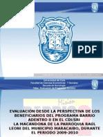 Presentacion de Evaluacion de Programas Sociales