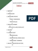 Informe de Geologia Morro Solar