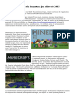 minecraft pour 3ds elu important jeu video de 2015