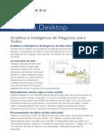 Tableau Desktop Brochure - ES