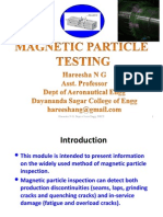 Magnetic Particle Inspection slide