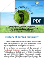 CARBON FOOTPRINT CLUB