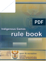 Indigenous Games Rule Book