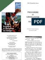 LIBERAZIONE DAL MALIGNO Preghiere Don Pasqualino Fusco Esorcista