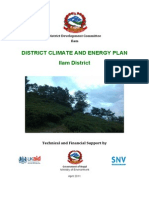 District Climate and Energy Plan Ilam