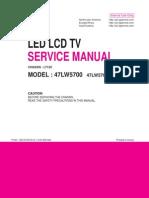 LG 47lw5700-Da Chassis Lt12c