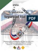 Propuesta para la Modificación del Título de la Ley 241 y Leyes Complementarias-Vista-