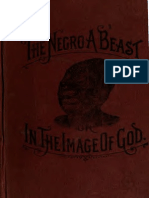 The Negro a Beast or the Image of God