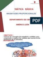 MAGNITUDES PROPORCIONALES.ppt