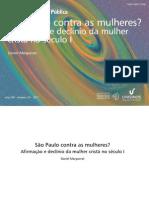 São Paulo contra as mulheres? Afirma ção e declínio da mulher cristã no século I