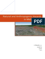 Natural and Anthropogenic Hazards in Metro Manila 2015-07