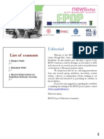 Editorial List of Contents