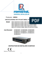 MDV DxxT2 N1X BA5 -Instalare,Service