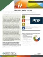 CMPA - Suicide Risk
