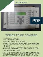 P632 Configure Off Line Mode