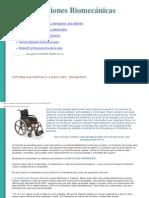 Biomecánica de Silla de Ruedas