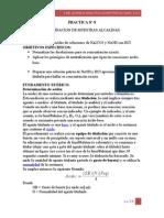 DETERMINACION DE MUESTRAS ALCALINAS.
