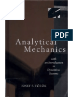 Analytical Mechanics with an Introduction to Dynamical Systems by Torok