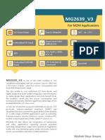 ZTEWelink+MG2639_V3+Datasheet_V1.3