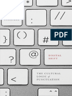 Digital Shift the Cultural Logic of Punctuation - Jeff Scheible - 2015