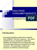 Analysing Consumer Markets