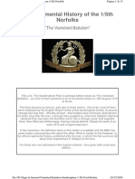 Vanished Battalion Sandringham 1-5th