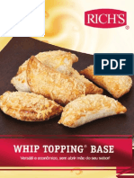 Whip Topping Base Receituario