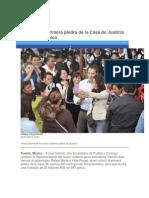 03-07-2015 Periódico Digital.mx - RMV Coloca Primera Piedra de La Casa de Justicia en Tecamachalco