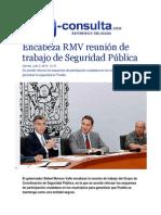 03-07-2015 E-consulta.com - Encabeza RMV Reunión de Trabajo de Seguridad Pública
