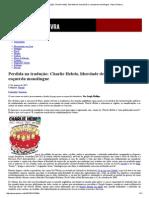 Perdida Na Tradução_ Charlie Hebdo, Liberdade de Expressão e a Esquerda Monolíngue _ Passa Palavra