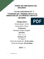 Informe Mecanica de Solidos Rivas Granda