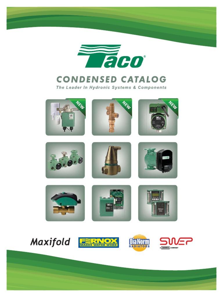 universal taco catalog (rev 10-1-14 )-reduced | Valve ... on