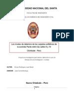 Proyecto de Investigacion Avenida Pardo
