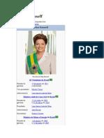 Dilma Rousseff bibliografia