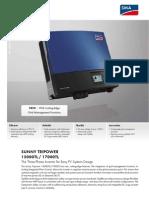 Stp17000tl-Den1514 Invertor Data Sheet