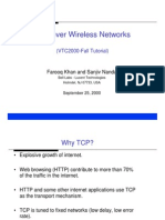 TCP Over Wireless
