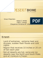 Group 5 - The Desert Biome