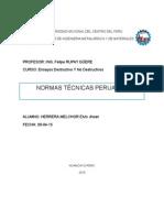 NORMAS TECNICAS PERUANAS TRABAJO.docx