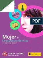 Guía de prevención. Mujer y drogadependencia en el ámbito laoral.