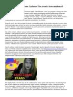 Annunci Best Di Trans Italiane Electronic Internazionali