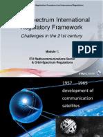 Orbit-Spectrum International Regulatory Framework