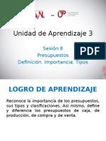 UNIDAD DE APRENDIZAJE 3 - PRESUPUESTOS.ppt