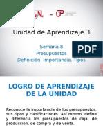 UNIDAD DE APRENDIZAJE 3 - Sesión 8.ppt