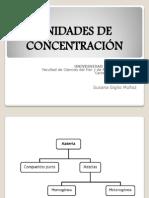 Clase Concentraciones