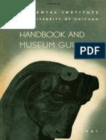 The Oriental Institute Handbook and Museum Guide